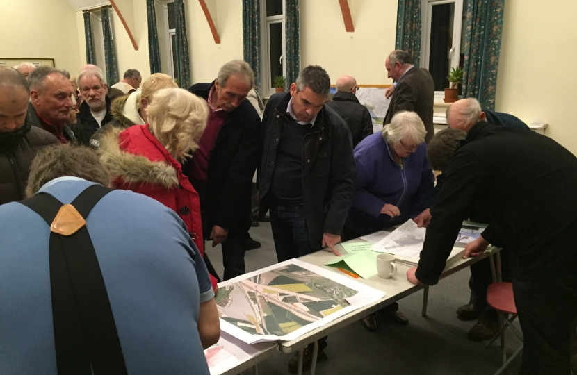 Craig at a HS2 information event