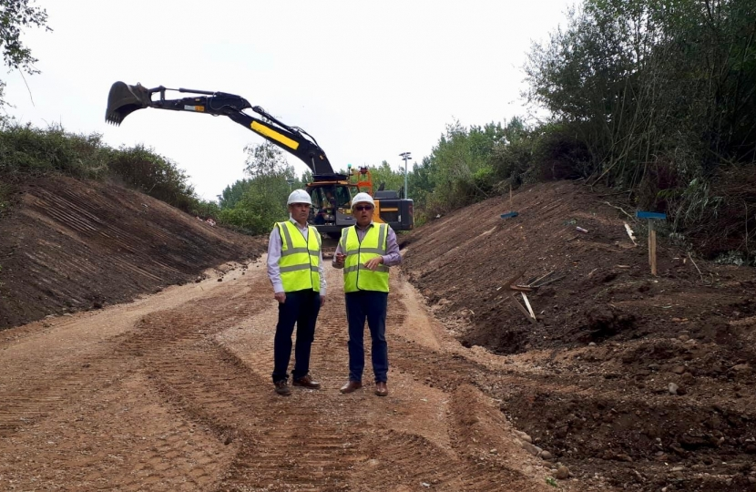 HS2 ground works