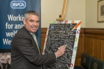Craig at the RSPCA event in Westminster